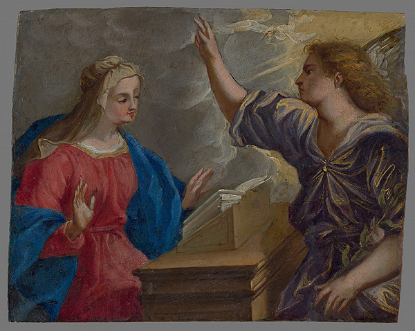 Stredoeurópsky maliar zo začiatku 18. storočia, Peter Candid – Zvestovanie Panne Márii