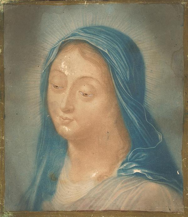 Stredoeurópsky maliar z konca 19. storočia - Panna Mária