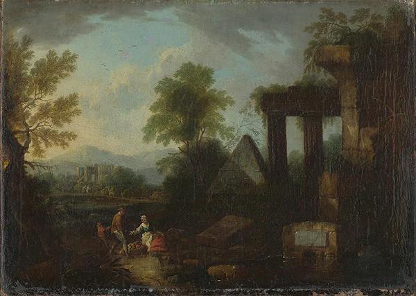 Jan Frans van Bloemen, Maximilian Joseph Schinnagl - Krajina s antickými ruinami II.