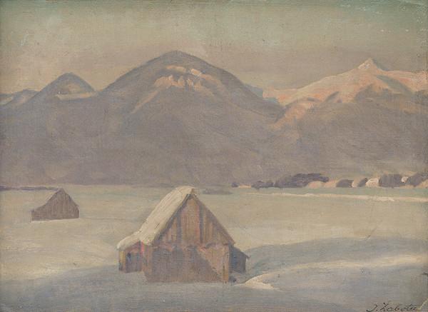 Ivan Žabota – Tatry v zime