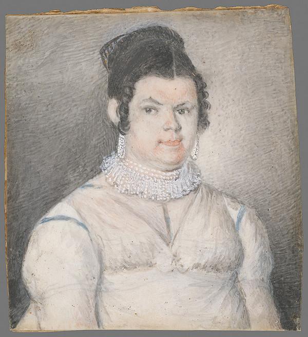Neznámy autor – Portrét ženy