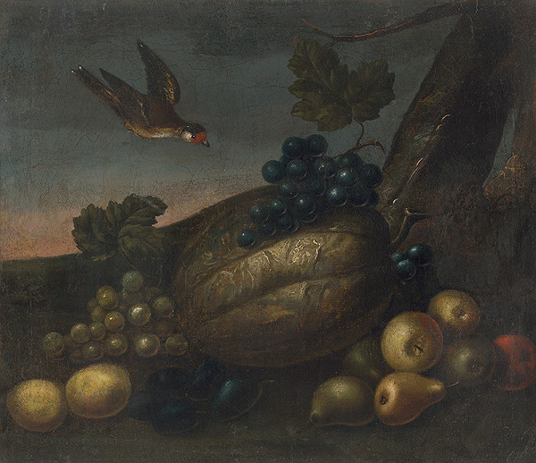 Neznámy autor – Zátišie s ovocím