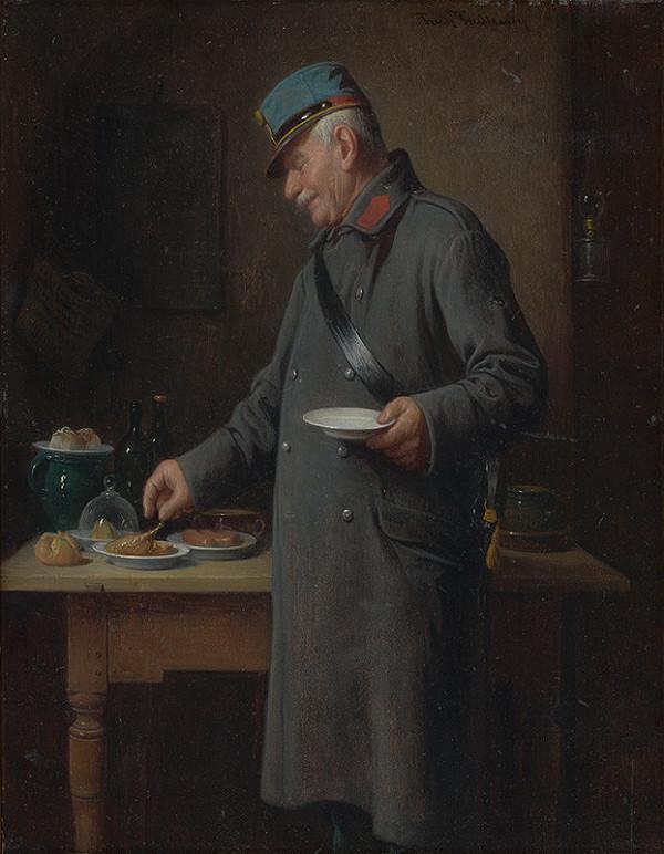 Friedrich Friedländer - Domobranec