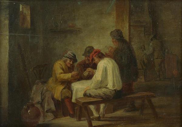 Flámsky maliar z 2. polovice 17. storočia, David Teniers ml. - Kartári