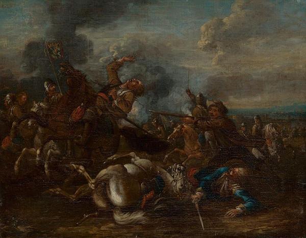 Georg Philipp Rugendas st. - Jazdecká bitka