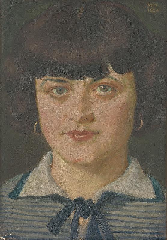 Milan Thomka Mitrovský - Podobizeň dievčaťa