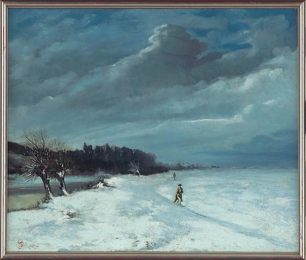 Ľudovít Pitthordt – Zimná krajina