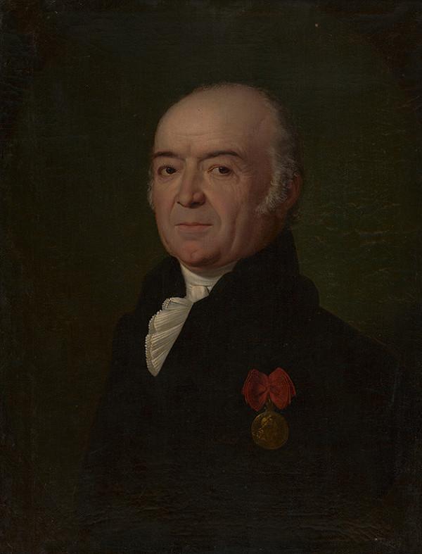Johann Nepomuk Höfel - Portrét Františka Wisnera von Morgenstern