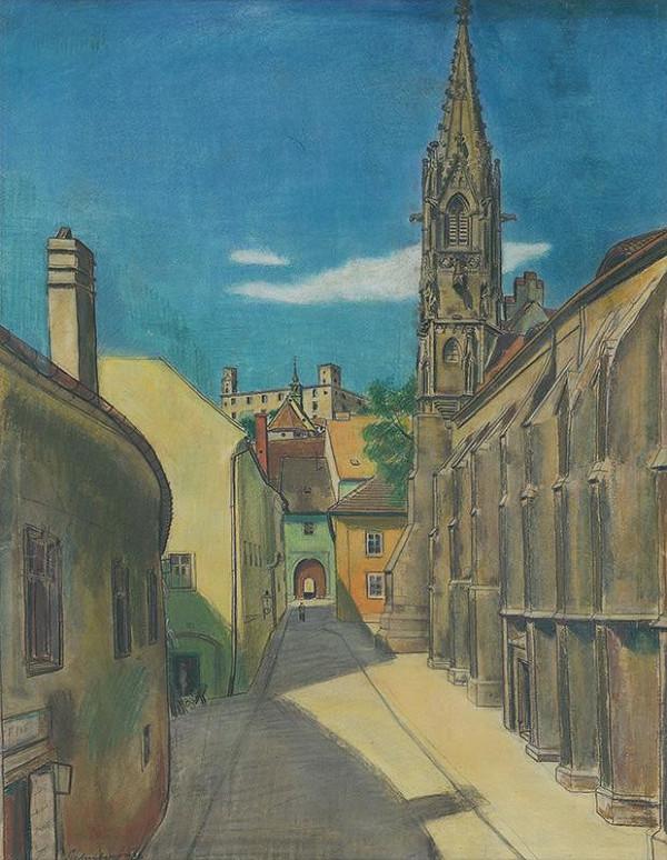 Július Schubert – Klariský kostol