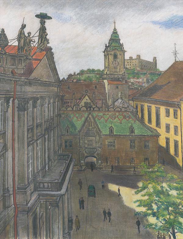 Július Schubert – Primaciálne námestie