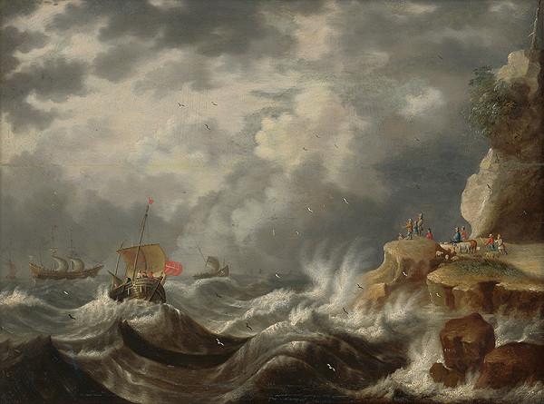Cornelis Mahu – Marína I. Búrka na mori