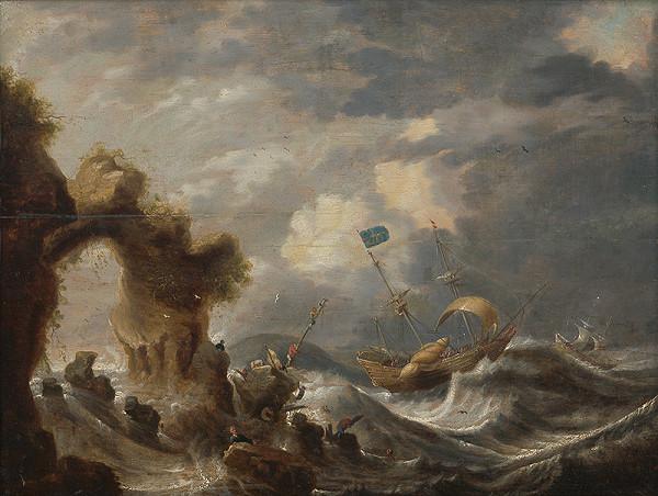 Cornelis Mahu – Marína II. Stroskotanci