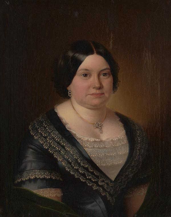 Miklós Barabás – Portrét Rosálie Langer rodenej Herbst von Löwenfeld