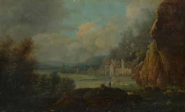 Adam Friedrich Oeser, Stredoeurópsky maliar z 18. storočia – Krajina so zámkom