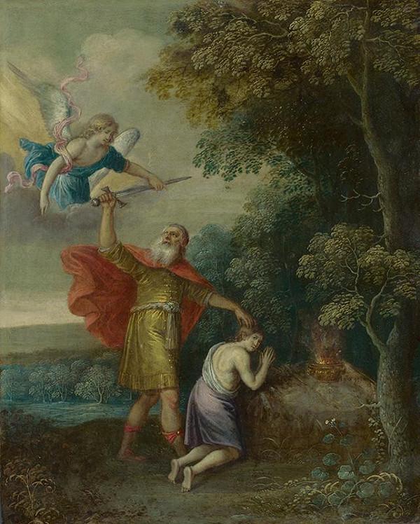Stredoeurópsky autor z 2. polovice 18. storočia - Obetovanie Izáka