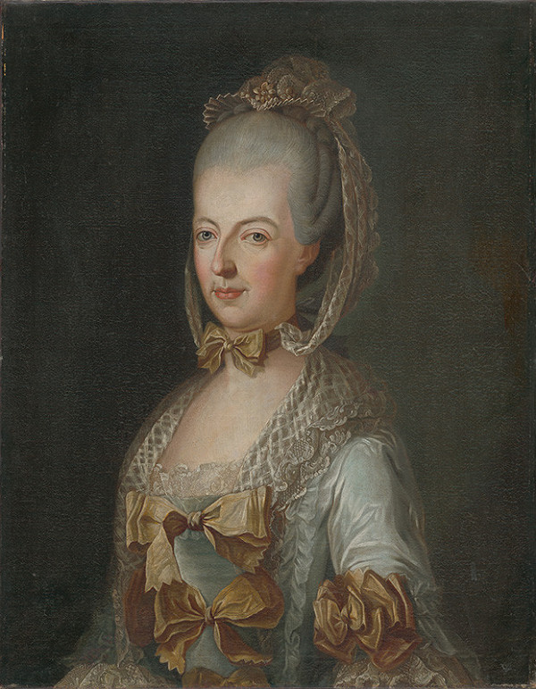 Stredoeurópsky maliar po polovici 18. storočia - Arcivojvodkyňa Mária Alžbeta