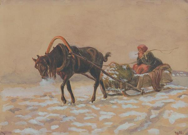 Stredoeurópsky maliar z 20. storočia - Zimná krajina