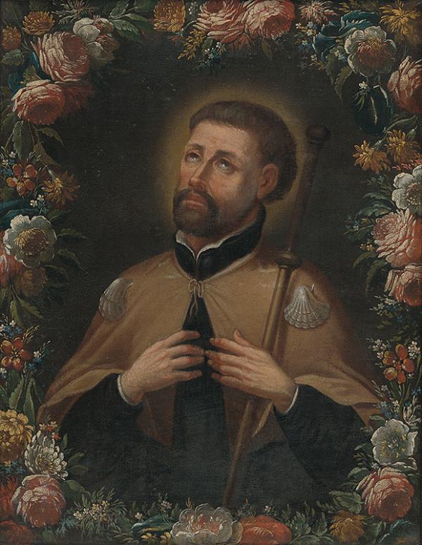 Bratislavský maliar z 1. polovice 18. storočia - Svätý František Xaverský