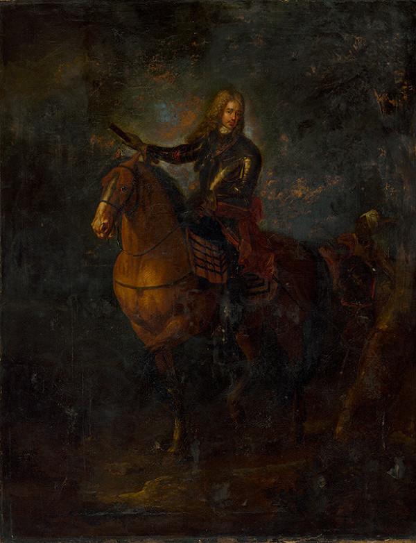 Stredoeurópsky maliar z konca 18. storočia – Jazdecký portrét Eugena Savojského