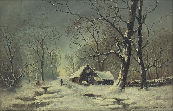 Gustáv Wintersteiner - Zimná krajina