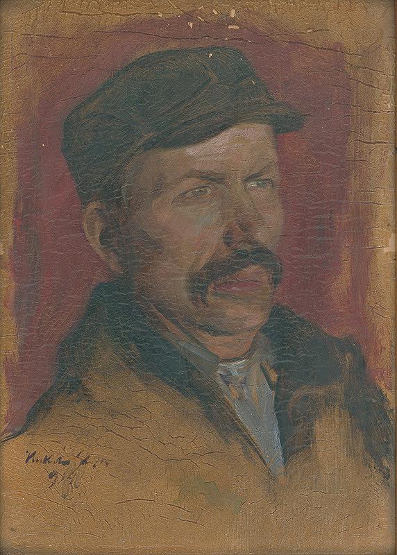 Gejza Kukán - Portrét baníka