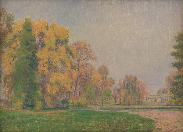 Dezider Czölder - Jesenný park
