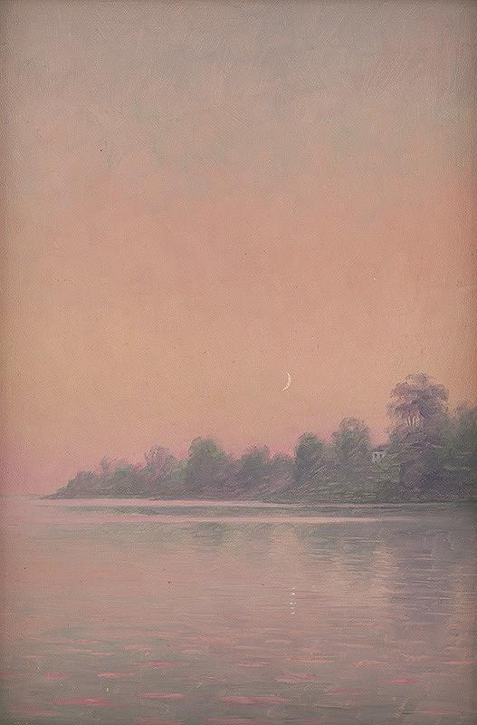 Dezider Czölder – Ružové pobrežie s mesiacom