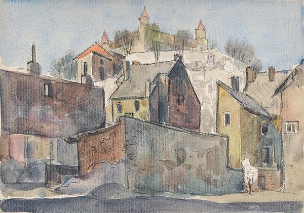 Imrich Weiner-Kráľ - Staré domy Podhradia
