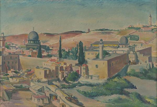 Armín Stern - Jeruzalem-chrámové námestie