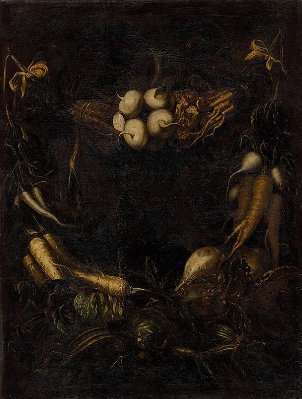 Neapolský maliar z prelomu 17. - 18. storočia - Zátišie so zeleninou