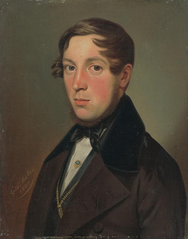 Gustav Adolf Müller - Portrét Franza Xavera Edera