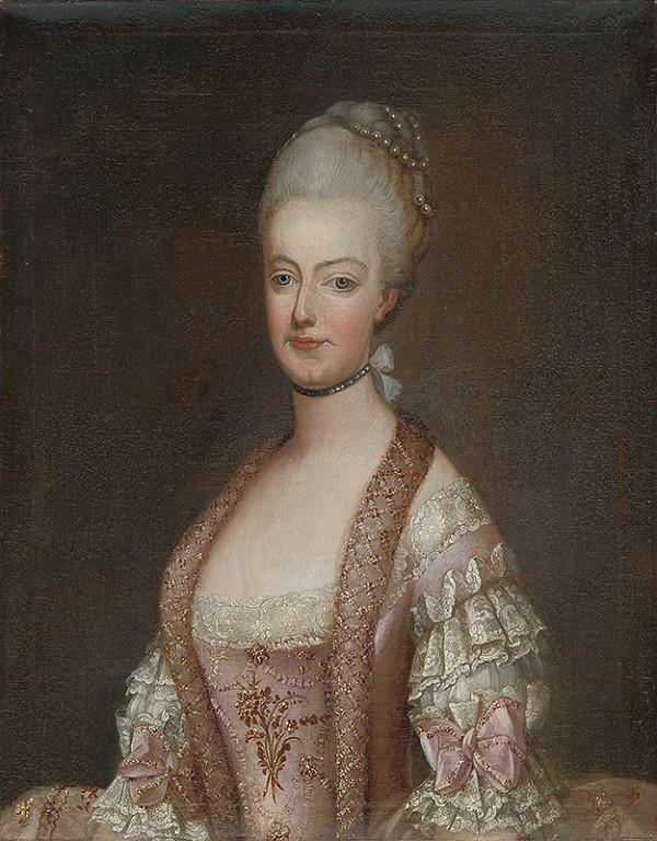 Stredoeurópsky maliar po polovici 18. storočia - Arcivojvodkyňa Mária Kristína