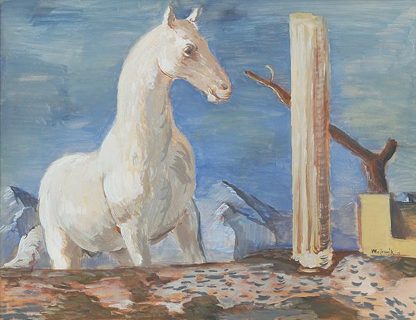 Cyprián Majerník - Biely kôň