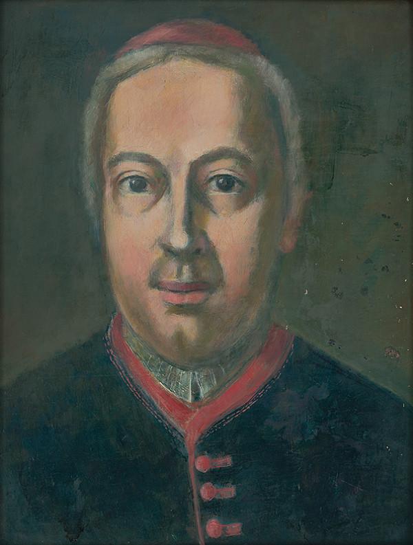 Július Schubert - Portrét Mikuláša Dyjardina-bratislavského prepošta