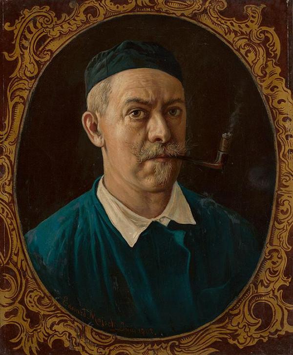 Eduard Majsch - Autoportrét