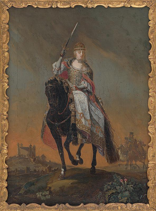 C. Hirsch ml. – Mária Terézia na korunovačnom pahorku