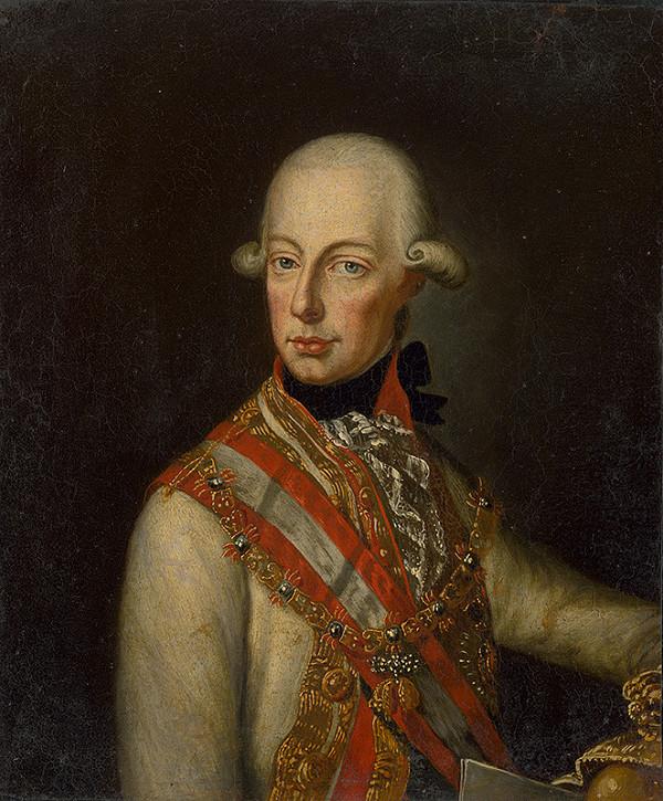 Rakúsky maliar z prelomu 18. - 19. storočia – Portrét cisára Františka II. (I.)