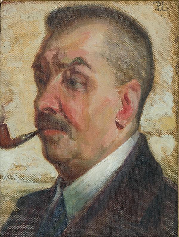 Ľudovít Pitthordt - Portrét maliara Meisslav Agostona
