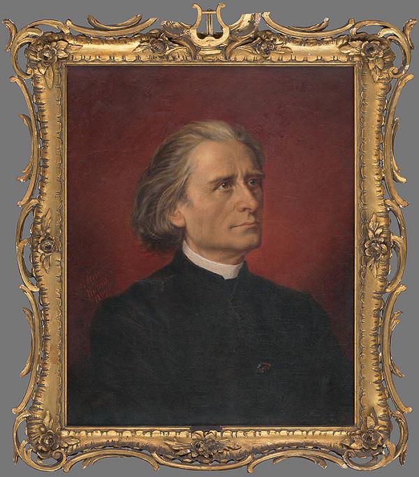 Wilhelmine von Stein – Portrét Franza Liszta
