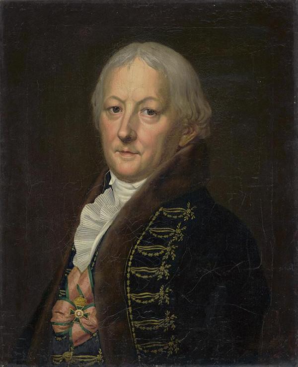 Stredoeurópsky maliar z konca 18. storočia – Portrét kráľovského personála (osobníka) Štefana Aczéla