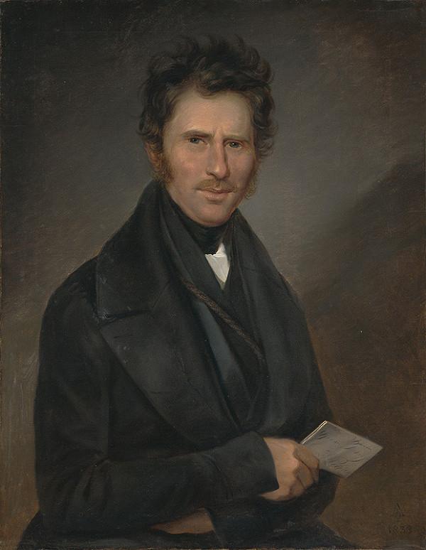 Ferdinand Karl Theodor Lütgendorff – Portrét pána Mihályiho, bratislavského rukavičkára