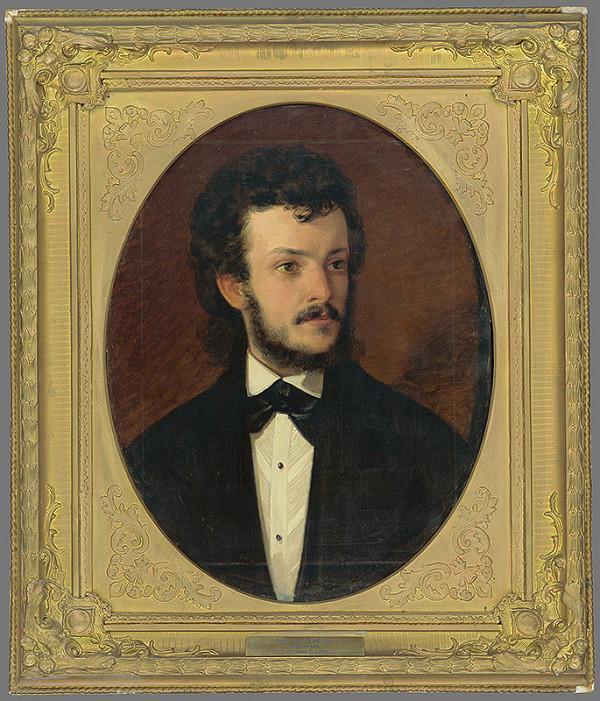 Eduard Majsch – Portrét Ludwiga Burgera