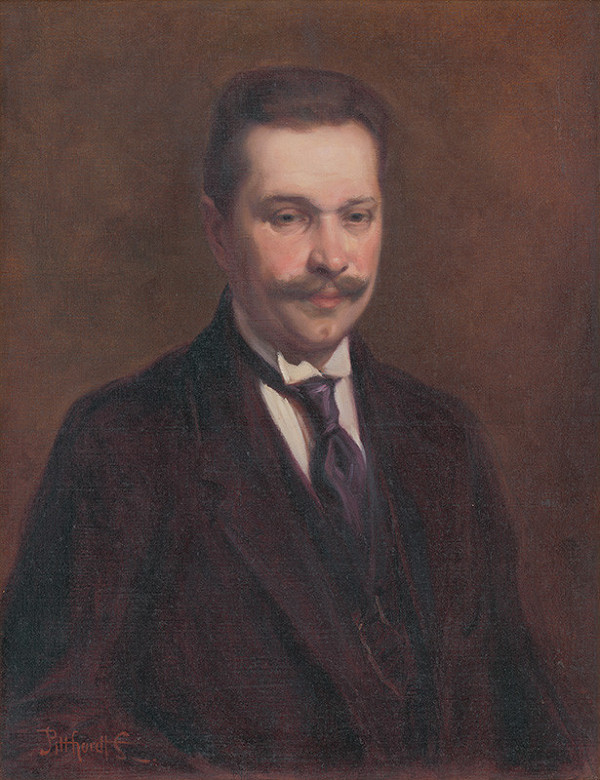 Ľudovít Pitthordt - Portrét Antona Stégera