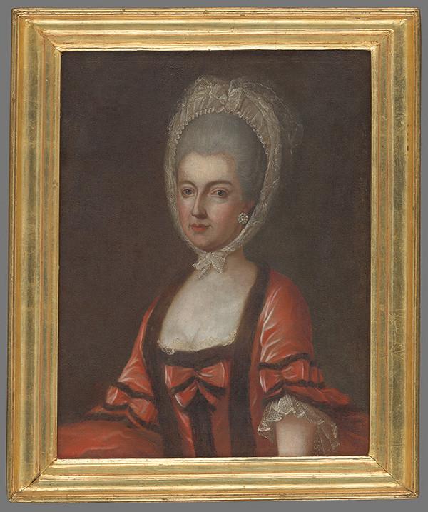 Rakúsky maliar z 2. polovice 18. storočia - Portrét arcivojvodkyne Márie Antónie