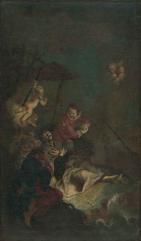 Franz Xaver Carl Palko, Franz Anton Palko - Smrť svätého Františka Xaverského na ostrove Sancian