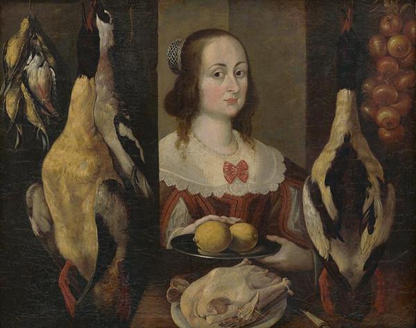 Lotrínsky maliar z 1. polovice 17. storočia – Predavačka zveriny