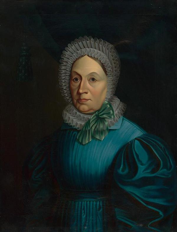 Slovenský maliar z 1. polovice 19. storočia – Portrét Márie Anny Lebzelternovej rod. von Unrein