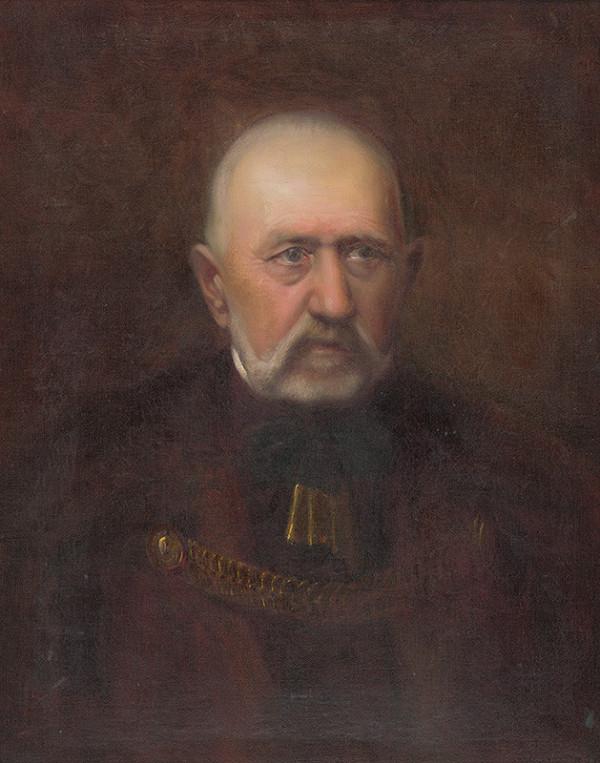Ľudovít Pitthordt - Podobizeň predsedu N.Gervayho