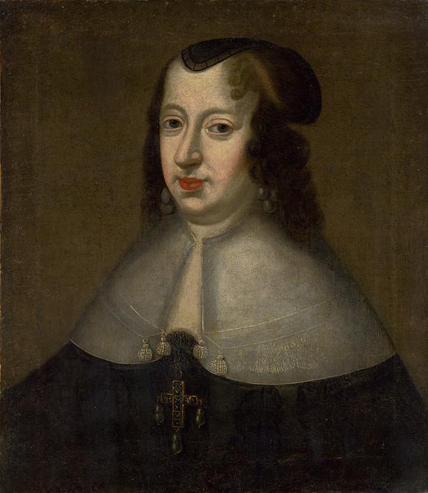 Stredoeurópsky maliar z konca 17. storočia - Portrét cisárovnej Eleonóry Gonzaga
