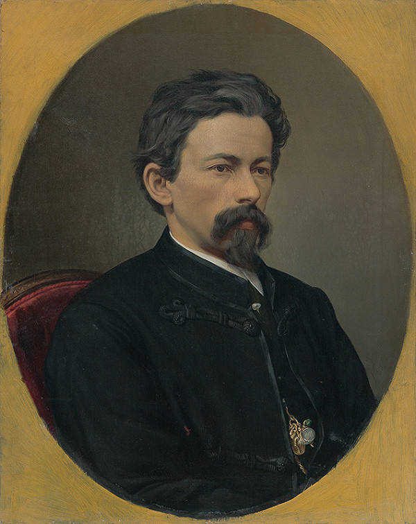 Hermann Nigg - Portrét Eduarda Kozicsa, bratislavského fotografa